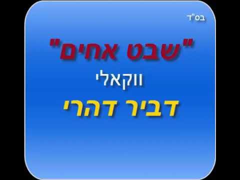 שבט אחים ואחיות - דביר דהרי | הגרסה הווקאלית