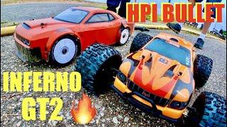 HPI Nitro BULLET G3.0 & Kyosho Inferno GT2 - Make Nitro Great Again 🔥 Arrma Infraction Race