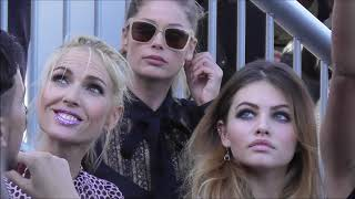 Thylane BLONDEAU as a model @ Paris L'Oréal show 30 september 2018 Fashion Week