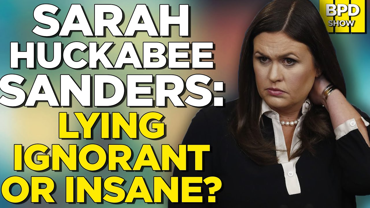 ? MUST-SEE! Sarah Huckabee Sanders Absolutely GRILLED By News Anchor