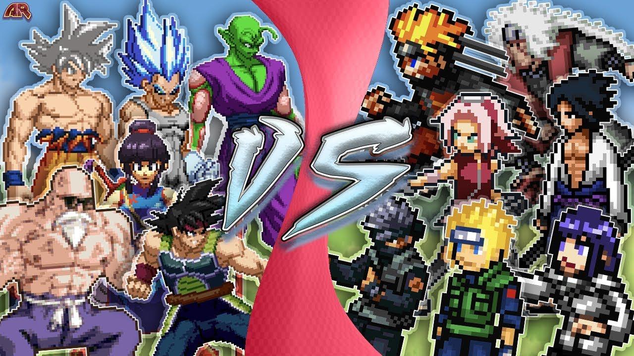 Goku Vs Naruto Total War Naruto Vs Dragon Ball Super