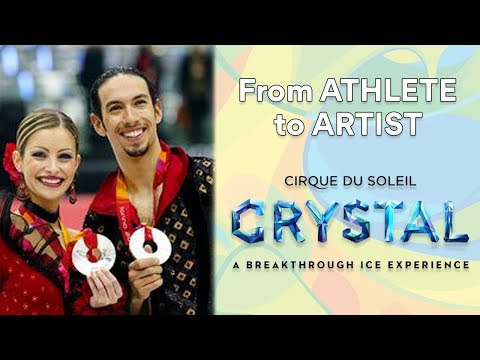 Ice Dancers transformed into Circus Stars | Athlete to Artist | CRYSTAL | Cirque du Soleil
