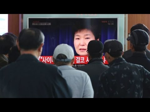Breaking News: South Korean President Removed
