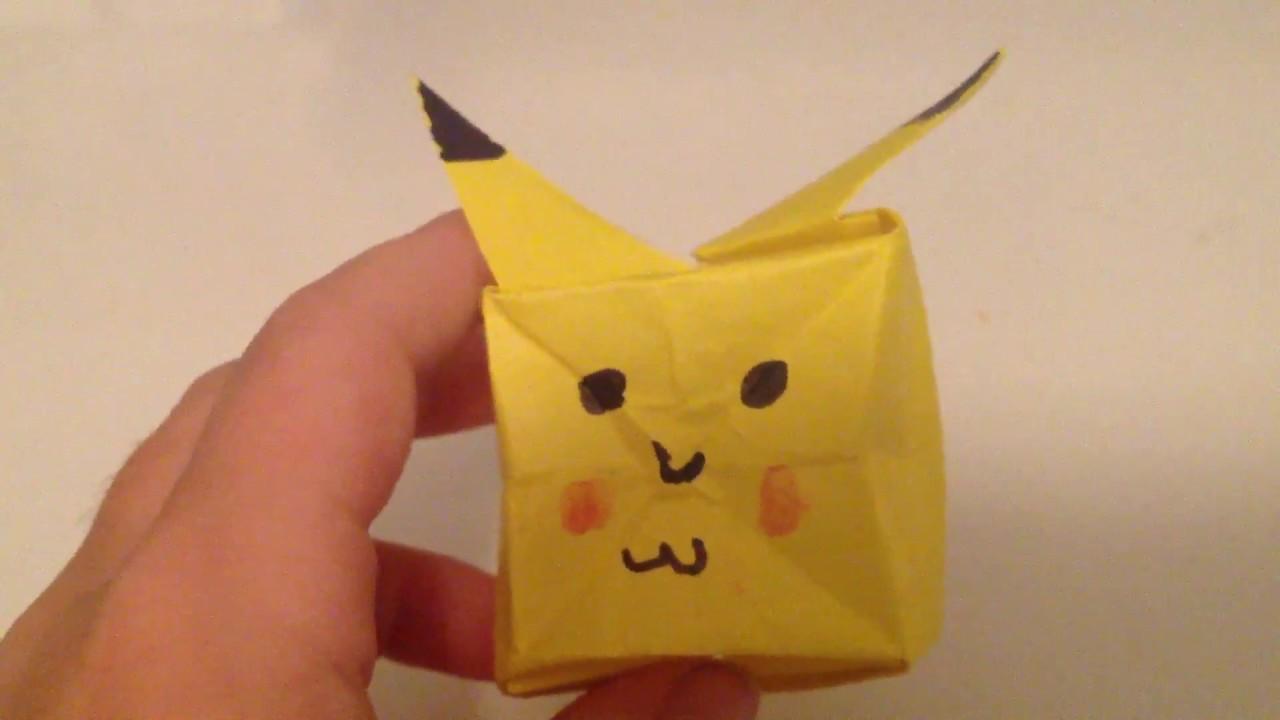 Inflatable Box | Origami box, Origami, Oragami | 720x1280