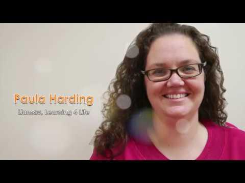 Paula Harding, Inspire! Tutor Award Winner 2017