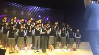 20160423 인천포스코고등학교 2학년 7반 소현쌤 결혼식 축가♥