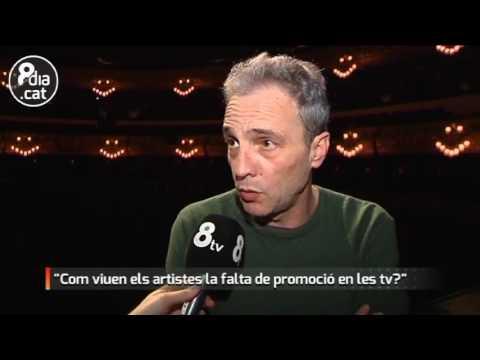 Entrevista a David Summers - Hombres G en 8tv Bcn
