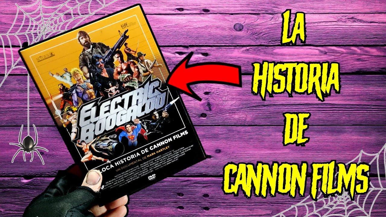 La LOCA HISTORIA de CANNON FILMS | El documental más nostálgico Electric Boogaloo