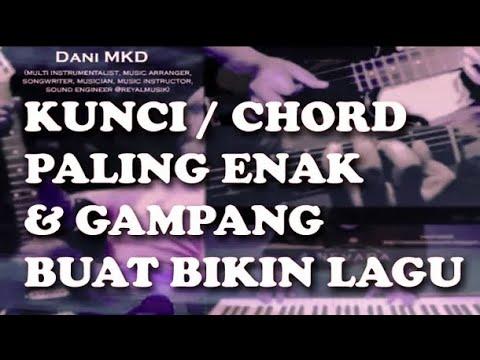 Cara Membuat Lagu Dengan Kunci Gitar / Piano Yg Paling Gampang & Enak