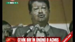 Çevik Bir'i Hasan Celal terfi ettirmiş. 'milliyetçi-muhafazakar' terfi listesine almış