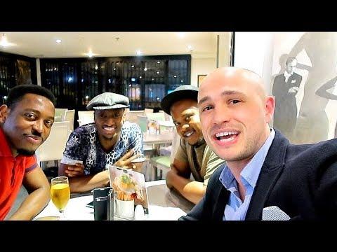 GUESS WHO WE MET IN SOUTH AFRICA | AdannaDavid