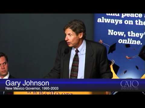 Gary Johnson on Drug Policy