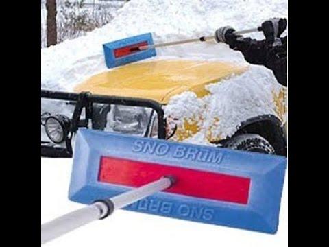 Snow Brum Pro (Snow Broom) Review - YouTube