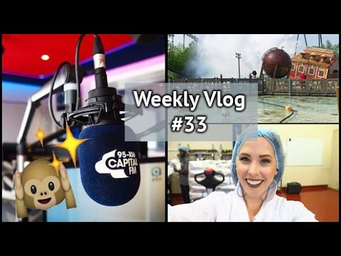Filming With Costa & Capital FM Interview!!! | xameliax Weekly Vlog #33
