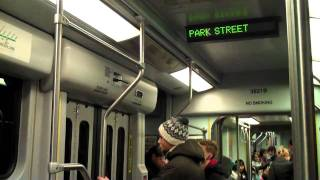 """Boston MBTA Subway """"T"""" Blue Line and Green Line Experience"""