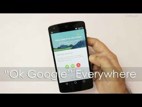 "Enable ""Okay Google"" Voice Search from any Screen"