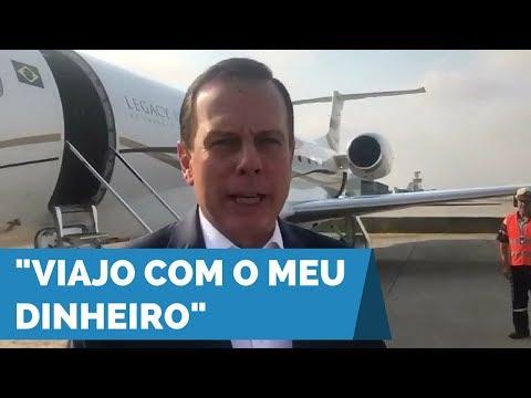 João Doria embarca para Porto Alegre onde se reunirá com o Prefeito Nelson Marchezan