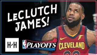 LeBron James Full Game 4 Highlights Cavs vs Pacers 2018 Playoffs - 32 Pts, 12 Reb, 7 Ast, CLUTCH