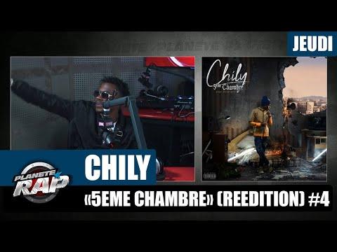 Youtube: Planète Rap – Chily«5ème chambre» #Jeudi