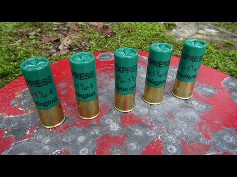 """12 GAUGE 2 3/4"""" #4 SHOT GEL TEST"""