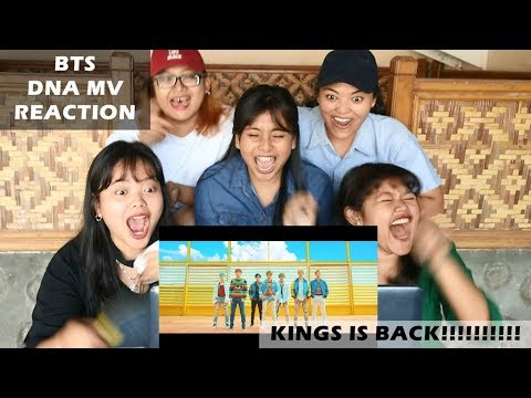 BTS - DNA || MV Reaction (indonesia)