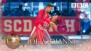 Joe Sugg & Dianne Buswell American Smooth to 'Breaking Free' - BBC Strictly 2018