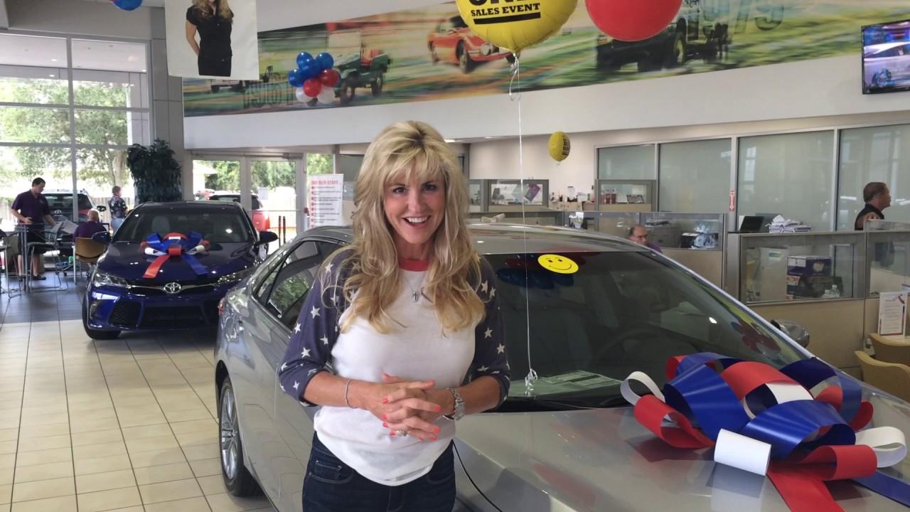Linda Beaver Happy 4th Of July | Beaver Toyota St. Augustine