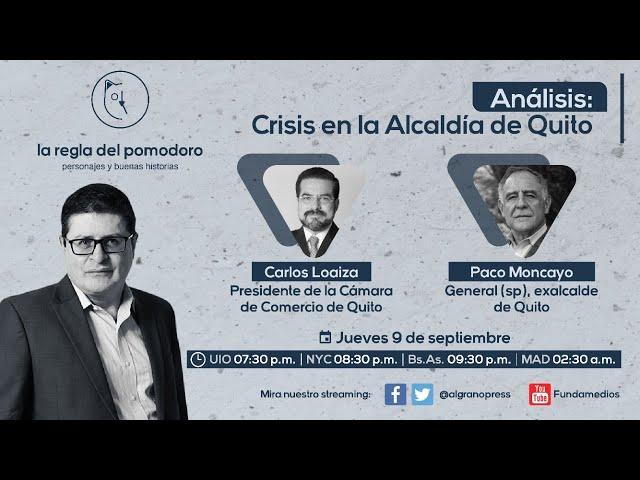Análisis: Crisis en la Alcaldía de Quito