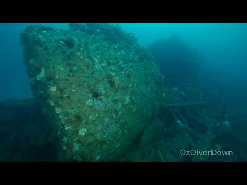 Nyora Steam Tug - Wreck Site Overview