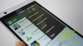 WhatsApp Web come abilitarlo e come funziona, videoprova da TuttoAndroid.net