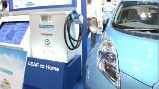 電気自動車バッテリーを電力として利用するEVパワーステーション #DigInfo