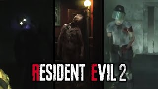 LOOK AT THESE MONSTROSITEES! || Resident Evil 2 Remake - Ghost Survivors DLC