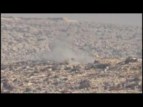 Topbarana artêşa Tirk a dagirker li ser gundewarên #Efrînê berdewam e.