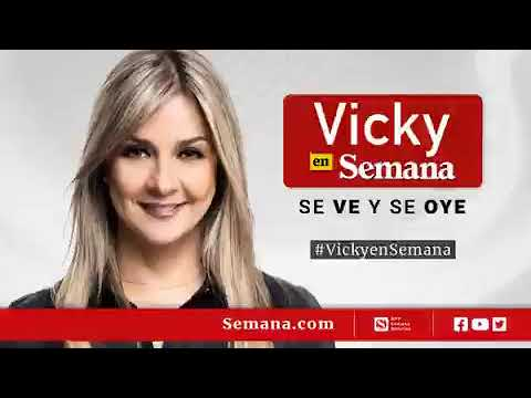 """""""Nos están chuzando"""": Vicky Dávila se defendió de audio donde habla sobre exembajador Sanclemente"""