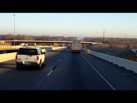 BigRigTravels LIVE! Oklahoma City to near Garber, Oklahoma I-35, OK 15-Feb.12, 2018