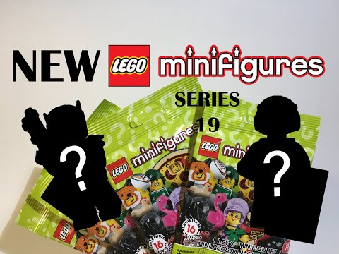 LEGO Minifigures Series 19 Pack Opening + Detailed Review