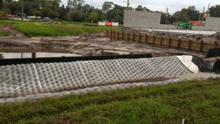DRAINAGE FOR RAIN WATER GAINESVILLE FLORIDA VIDEO BY ASAP PLUMBING  352-335-8555