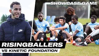 10+ SCOUTS WATCHING 👀 SHOWCASE GAME | RISING BALLERS VS KINETIC FOUNDATION | Unsigned Ep 59