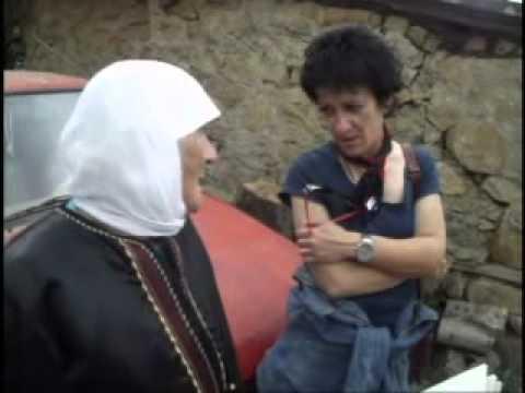 Anziana donna gorana