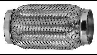 Снимаем вибрацию с кузова.  Установка гофры в выхлопную систему ВАЗ Классика.