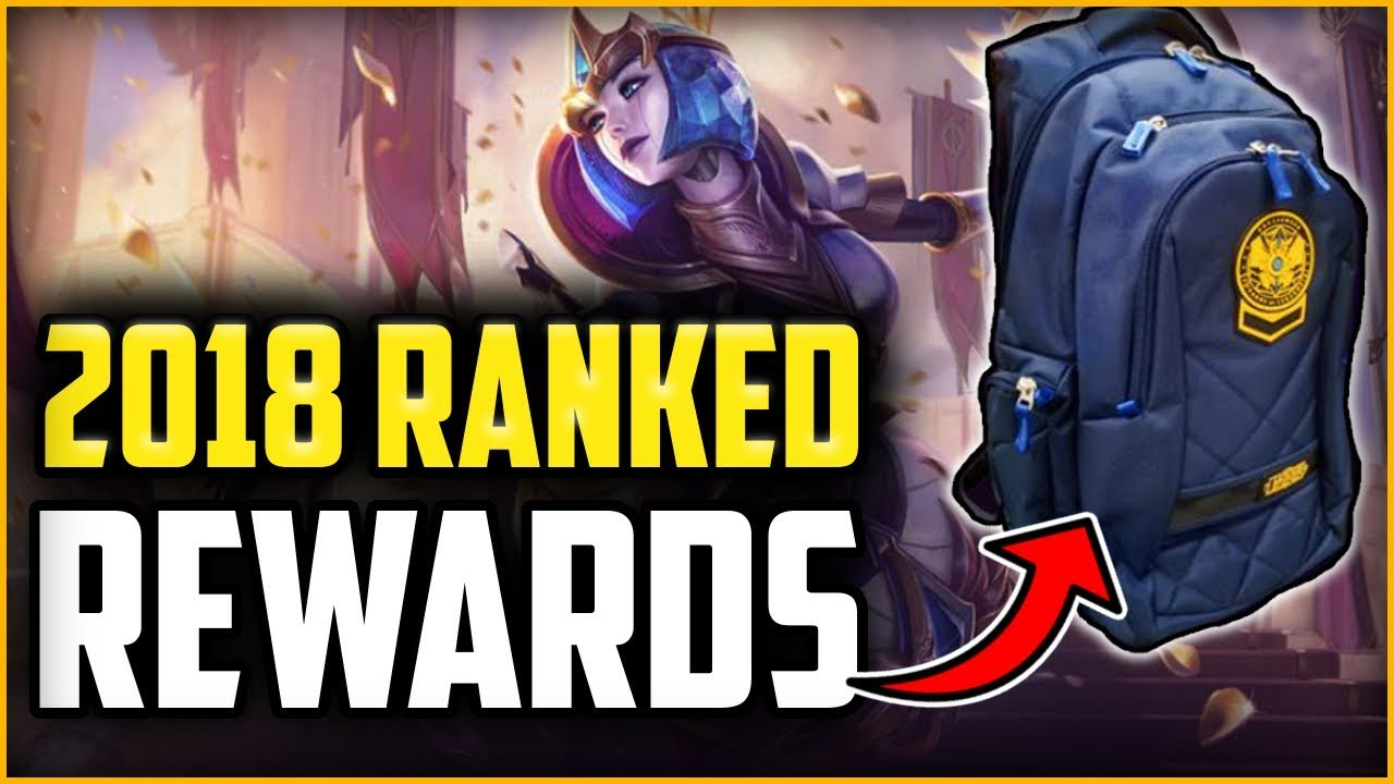End of Season Rewards Rewards ARE HERE! Challenger Back Pack!? - League of  Legends Season 8 Rewards