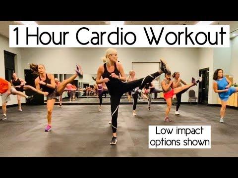1 Hour Cardio Workout   Burn Mega Calories!!