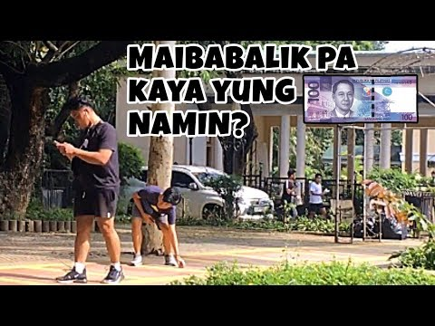 HONESTY TEST: NAHULOG YUNG PERA KO   SOCIAL EXPERIMENT