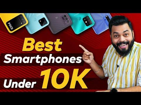 Top 5 Best Mobile Phones Under ₹10000 Budget ⚡ April 2021