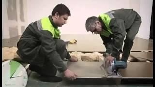 QuickDeck  Советы по самостоятельной отделке пола и стен(Подробности на сайте: www.sformat.ru Плиты QuickDeck изготовлены из высококачественных древесностружечных плит, шпун..., 2014-04-24T19:11:33.000Z)