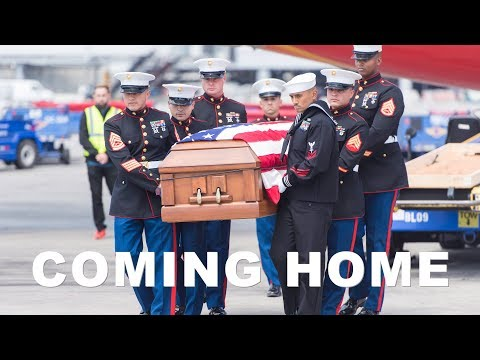LCpl. Lenin Priego Zurita Comes Home to A Beautiful Hero's Welcome