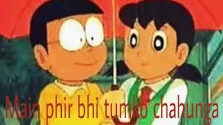 Main Phir Bhi Tumko Chahunga nobita love sizuka||Nobita Sizuka