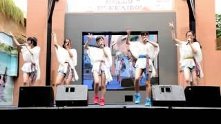 Hokkaido's idol group Milcs Honmono performing at the Hello Hokkaid...