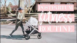 MY POSTPARTUM FITNESS ROUTINE + ACTIVEWEAR HAUL | Becca Bristow