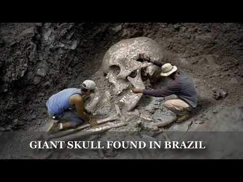 8 OCCASIONS WHEN GIANT HUMAN SKELETONS WERE FOUND -ARE THESE ALIENS' SKELETONS?